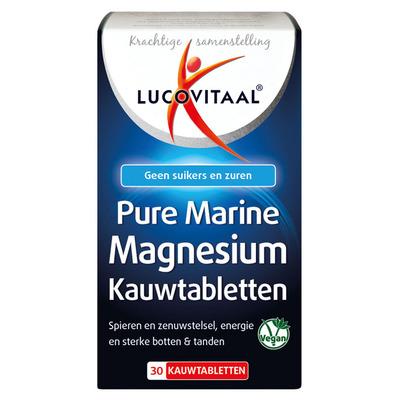 Lucovitaal Pure marine magnesium kauwtablet