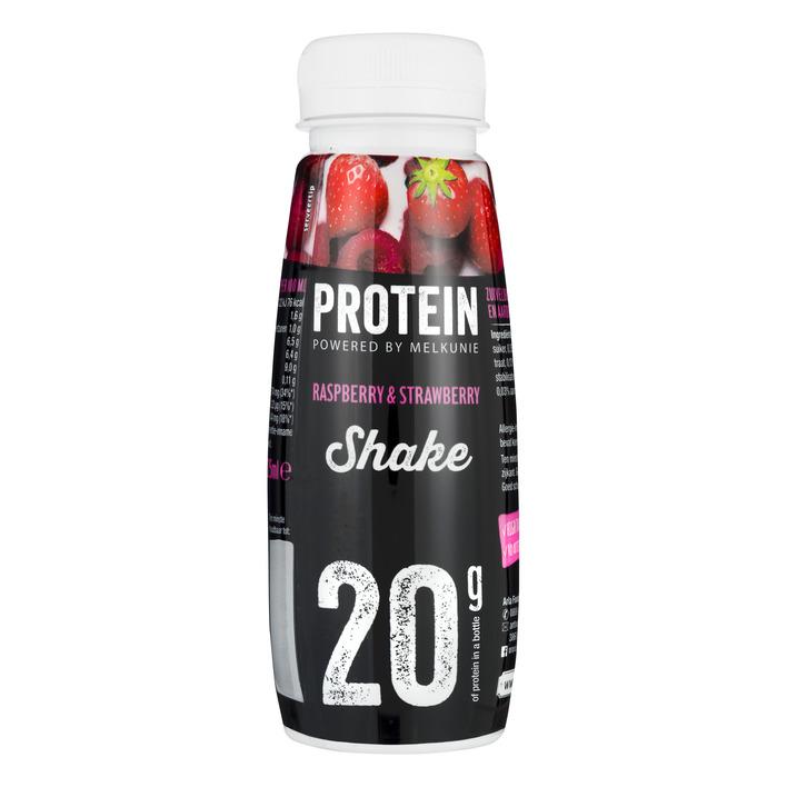 Melkunie Protein shake framboos-aardbei