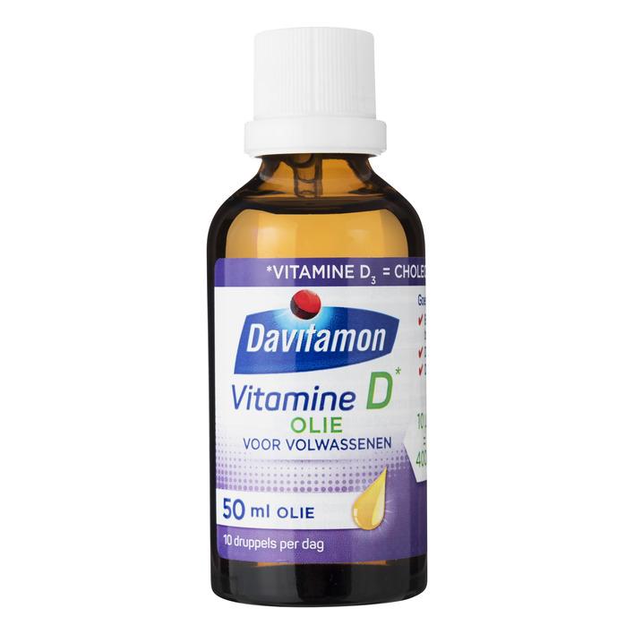 Davitamon Vitamine D olie voor volwassenen
