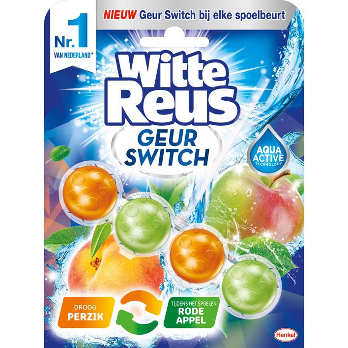 Witte Reus Perzik-appel toiletblok