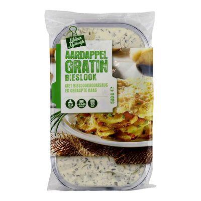 Aardappelgratin Bieslook/ui