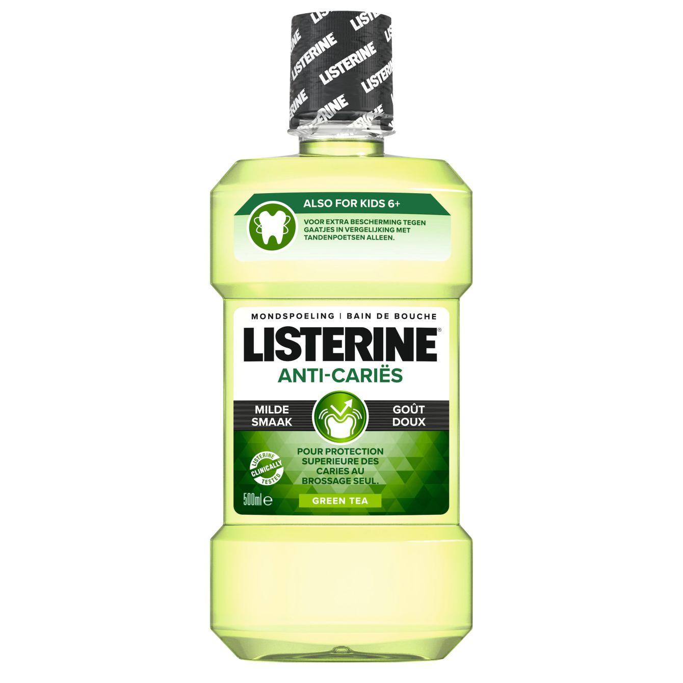 Listerine Mondwater Green Tea