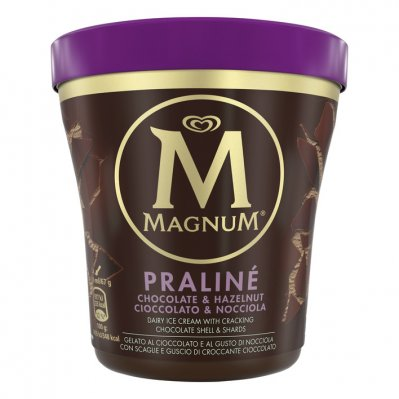 Magnum Pint hazelnoot praline