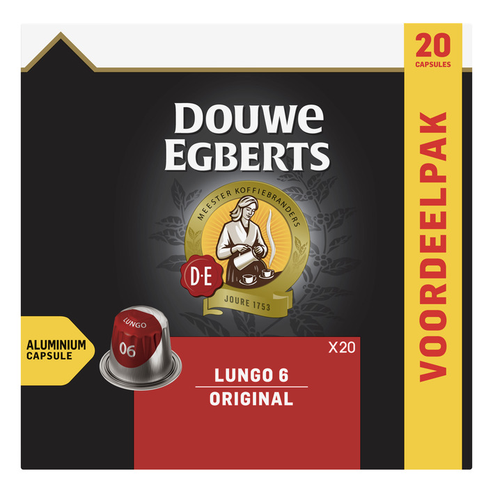 Douwe Egberts Lungo original koffiecups