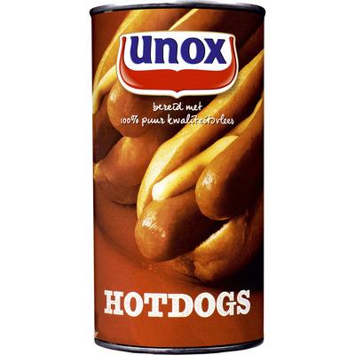 Unox Blik hotdogs