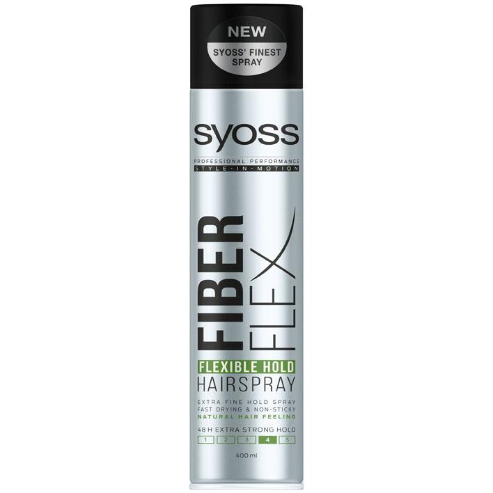 Syoss Style hairspray fiberflex hold
