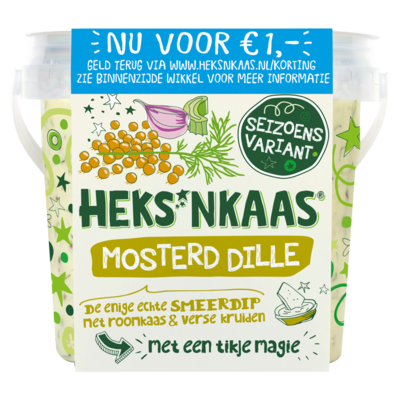 Heks'nkaas Mosterd Dille 125 g