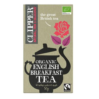 Clipper Organic English breakfast tea 1-kops