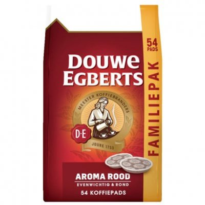 Douwe Egberts Aroma rood koffiepads