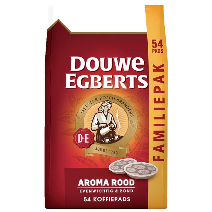 Douwe Egberts Aroma rood koffiepads