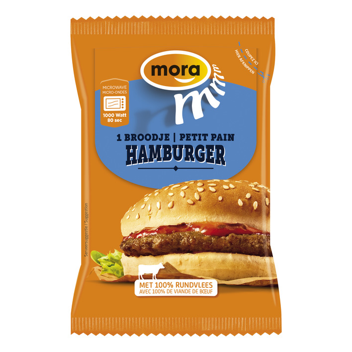 Mora Broodje hamburger