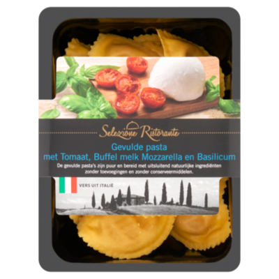 Selezione Ristorante Gevulde pasta met tomaat