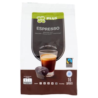 Huismerk Koffiecapsules espresso Fairtrade