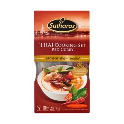 Sutharos Thai Cooking Set Red Curry