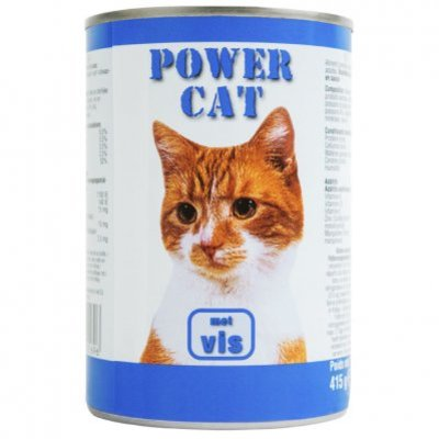 Powercat Blik vis saus