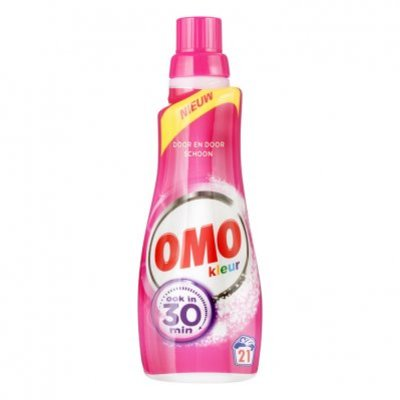 Omo Klein & krachtig wasmiddel kleur