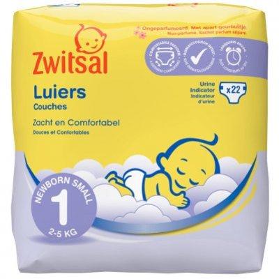 Zwitsal Luiers new born maat 1