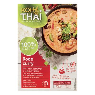 Koh Thai Rode curry maaltijdpakket