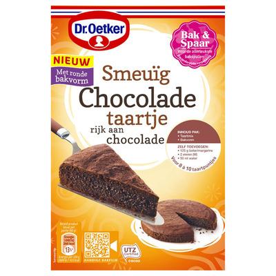 Dr. Oetker Smeuïg chocoladetaartje