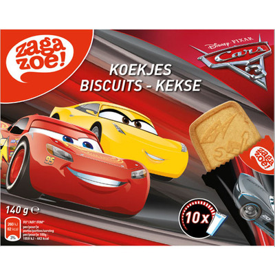 Zagazoe Cars 3 vanille koekje