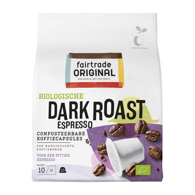 Fairtrade Original Dark roast espresso capsules bio