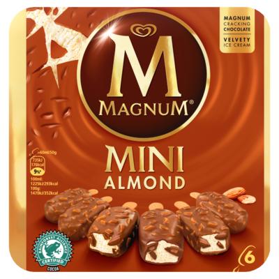 Magnum Mini Almond 6 Stuks