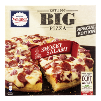 Wagner Big pizza smokey salami