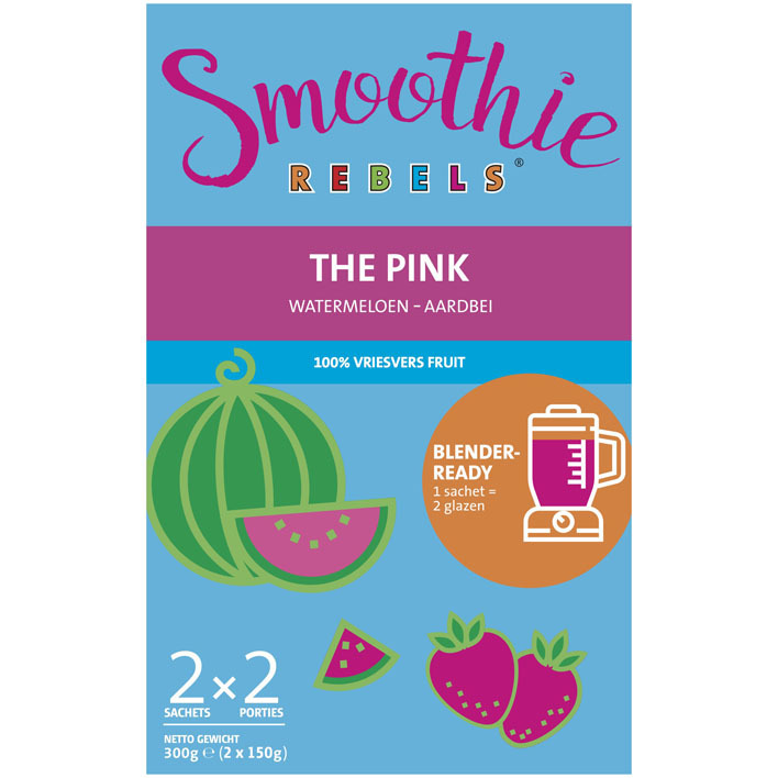 Smoothie Rebels The pink