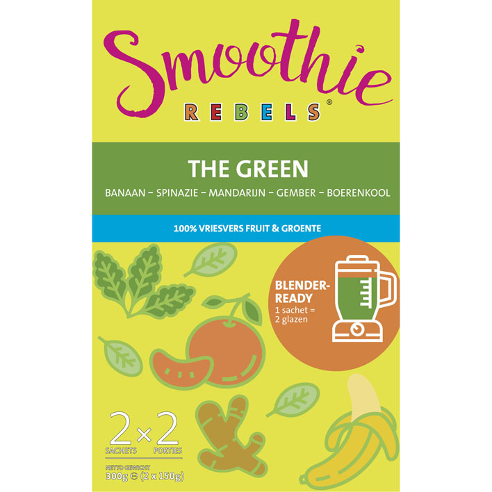 Smoothie Rebels The green