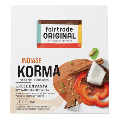 Fairtrade Original Kruidenpasta korma