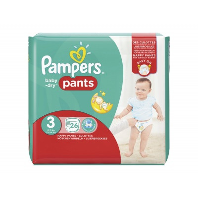 Pampers Baby dry pants midi