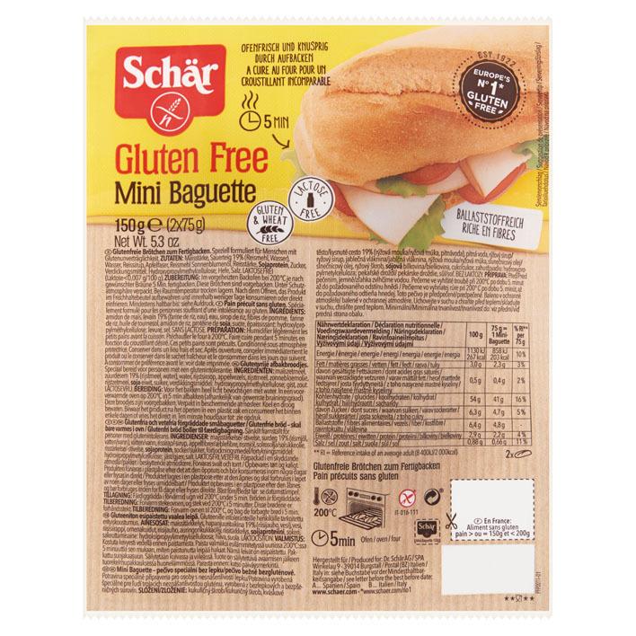 Schär Mini baguette glutenvrij
