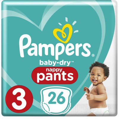 Pampers Baby-dry pants maat 3