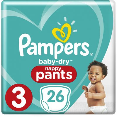 Pampers Baby-dry pants maat 3