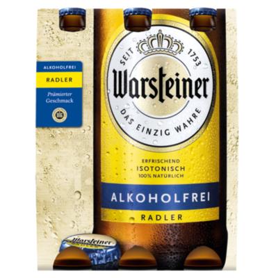 Warsteiner Radler 0.0%