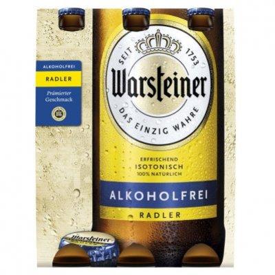 Warsteiner Radler alkoholfrei