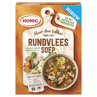 Honig Rundvleessoep