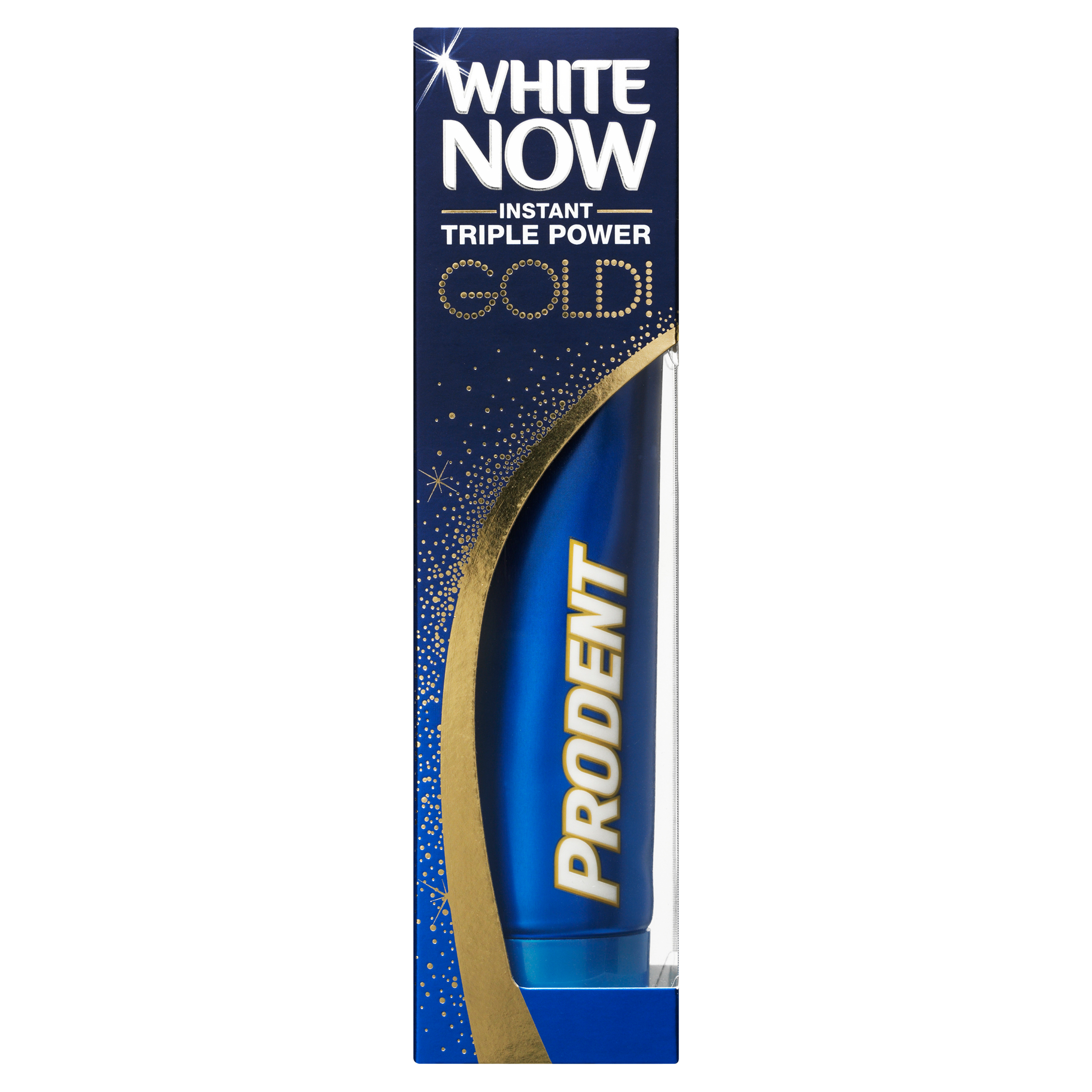 Prodent White Now Instant Triple Power Gold Tandpasta 75 ml