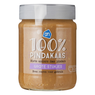 Huismerk 100% Pindakaas extra grof