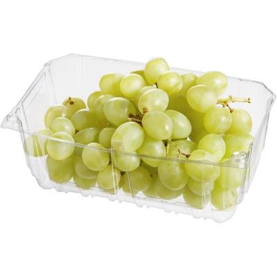 Pitloze witte druiven verpakt