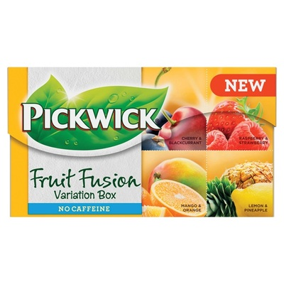 Pickwick fruit fusion thee  variaties