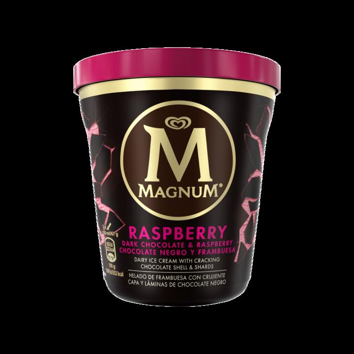 Magnum Pint Dark Chocolate Raspberry
