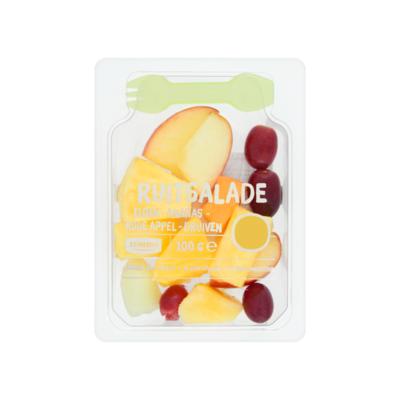 Huismerk Vers fruit meloen-appel-druif