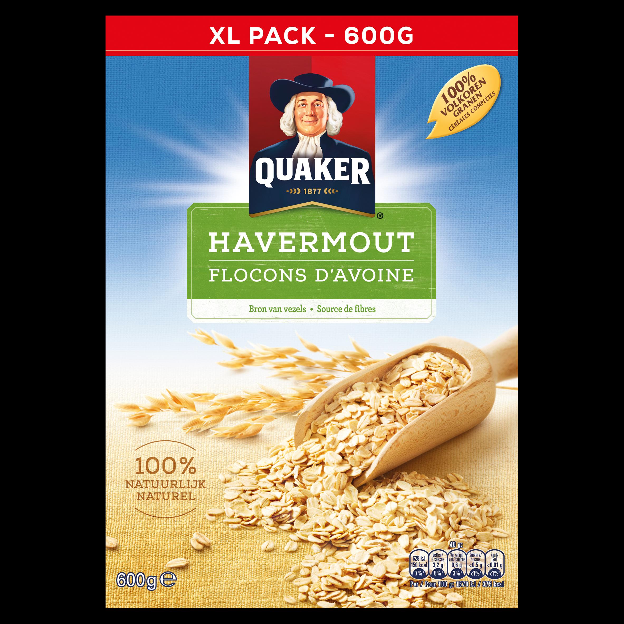 Quaker Havermout 600 gr
