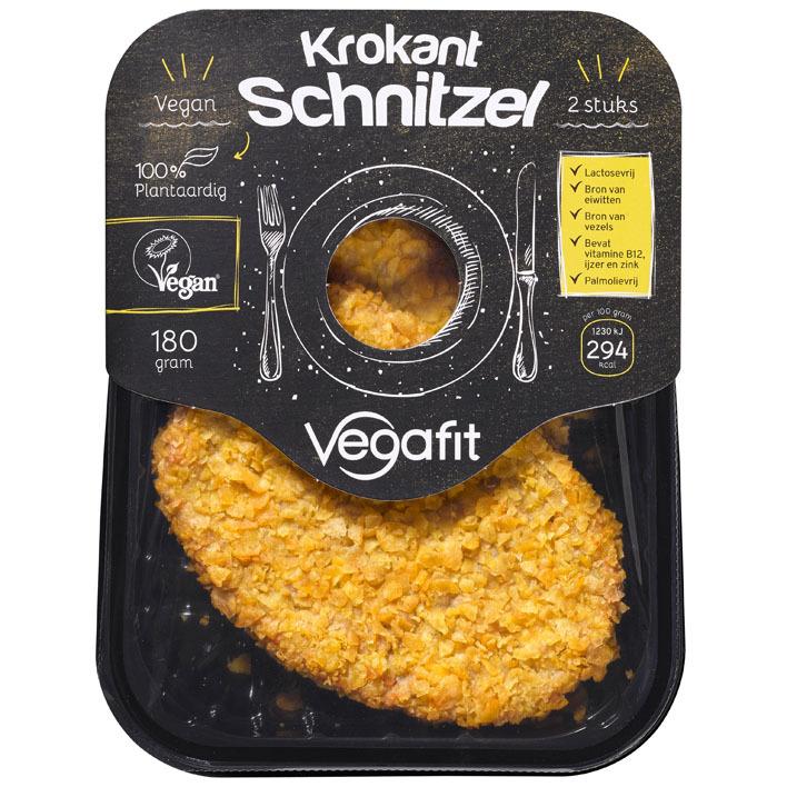 Vegafit Krokant schnitzel