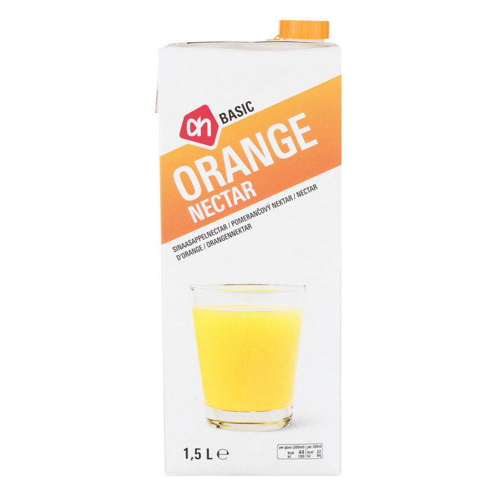 Budget Huismerk Orange nectar