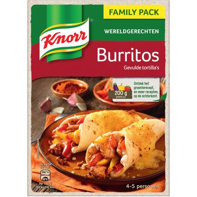 Knorr Wereldgerechten burritos XXL