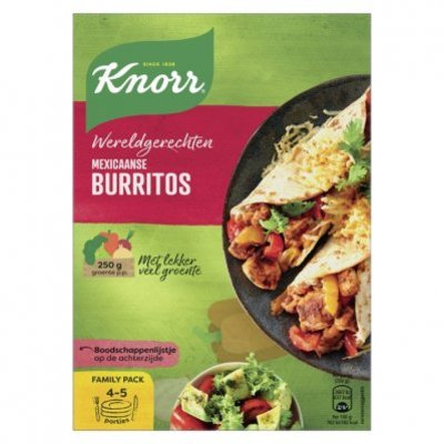 Knorr Wereldgerechten mexicaanse burritos xxl