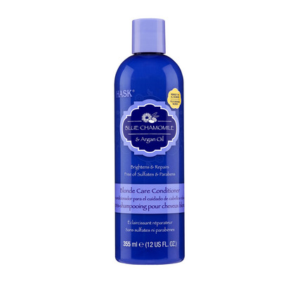 Hask Blue chamomille argan blonde conditioner