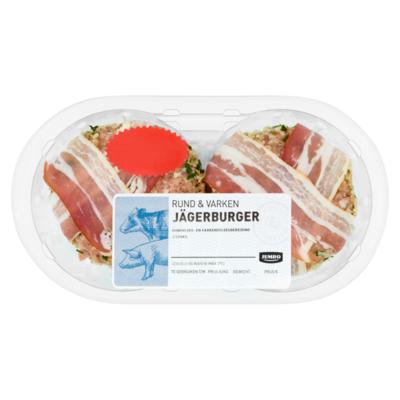 Huismerk Rund & Varken Jägerburger 2 Stuks